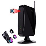 Hidden Camera Spy Camera by Provision-ISR, WIFI 1080p HD Spy Cam, Night Vision, Motion Detection, Wireless Security Surveillance System, Nanny Cam