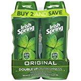 Irish Spring Body Wash for Men, Original- 18 ounce (2 count)