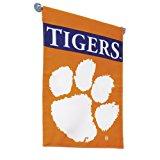 NCAA Clemson Tigers 2-Sided Garden Flag