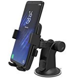 iOttie Easy One Touch XL Car Mount Holder for Samsung Galaxy S8, S8 Plus, iPhone 7, 7 +, & Most Smartphones