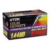 "TDK 50-pack 3.5"" Floppy Disks Preformatted for PC"