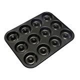 "Webake Extra Thick Donut Pan 12-cavity 2.8"" Non-stick Standard Size (Donut pan)"