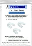Mouth Guard from ProDental - BPA Free - Teeth Grinding Night Guard, Athletic Mouth Guard, Teeth Whitening Tray - Includes 3 Customizable for Comfort Dental Guards - Hygienic, FDA Approved Soft Material - Made in USA