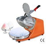 F2C 300W Electric Ice Shaver Shaved Machine Shaver Shaved Icee Snow Cone Maker 143 lbs New (300W)