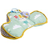 Taf Toys Baby Tummy Time Pillow | Perfect For 2-6 Months Old Babies, Enables Easier Development & Easier Parenting, Natural Developmental, Comfortable Tummy Time, Ergonomic Design, Detachable Toys