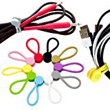 TwistieMag Super Strong Magnetic Twist Ties - Multi Color 10 Pack - Unique Solution For Cable Management, Hanging & Holding Stuff, Or Just For Fun!