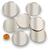 """Round 2"""" Mini Mirror Can Be Used in Many Craft Projects & Mosaics (60 Pcs)"""