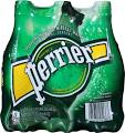 Perrier Sparkling Natural Mineral Water - 6 pack, 16.9 oz bottles
