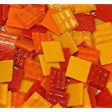 "Hakatai Glass Mosaic Tile 5/8"" – ½ Pound Summer Blend FBL01"