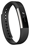 Fitbit Alta Fitness Tracker, Silver/Plum, Large (US Version)