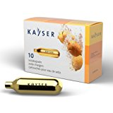 Kayser 10-Count CO2 Soda Chargers