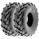 SunF Knobby ATV Sport Tires 18x7-8 18x7x8 4 PR A003 (Set Pair of 2)