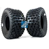 MassFx Rear Tire Set (2x) 4ply 20X10-9 ATV Tires 20 11 9 20x10x9 Pair