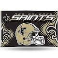 Rico Industries NFL Banner Flag; New Orleans Saints