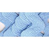 Wrights 117-402-052 Polyester Rick Rack Trim, Light Blue, Jumbo, 2.5-Yard