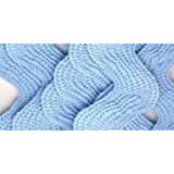 Wrights 117-402-052 Polyester Rick Rack Trim, Light Blue, Jumbo, 2.5-Yard