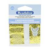 Beadalon Hard Needles #10 12 Pieces, 2 Threader