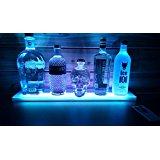 SPARIK ENJOY Home Bar Lighting Wine Racks - 2 Ft LED Lighted Liquor Bottle Display Shelf Includes Remote Control