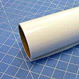 """12"""" x 10 Ft Roll of Oracal 651 Matte White Vinyl for Craft Cutters and Vinyl Sign Cutters"""