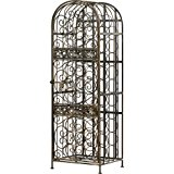 Wine Enthusiast Renaissance Wrought Iron Wine Jail