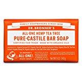Dr. Bronner's Organic Pure Castile Bar Soap - Tea Tree - 5 oz