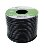 14AWG Speaker Wire, GearIT Pro Series 14 AWG Gauge Speaker Wire Cable (100 Feet / 30.48 Meters) Great Use for Home Theater Speakers and Car Speakers Black