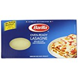 Barilla Pasta, Oven-Ready Lasagne, 9 Ounce (Pack of 4)