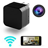 Hidden Camera - HD 1080P - Motion Detection - WiFi Remote View - Usb Charging Phones - Alarm Message -(Support 128GB Micro SD Card) - Home Mini Security - Spy Camera - by DEGOLLE