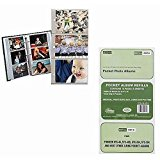 Pioneer Refill Pages for 3-Ring Photo Albums, holds 4x6- Inch Photos, Pack of 10 Pages.