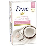 Dove Purely Pampering Beauty Bar, Coconut Milk 4 Ounce, 6 Bar