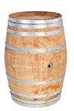 """MGP Oak wood Whole Wine Barrel, 26""""D x 35""""H"""