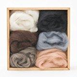 Woolpets Neutral Roving Wool