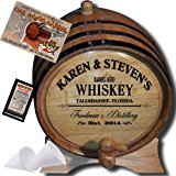 """MADE BY"" American Oak Barrel - Personalized American Oak Aging Barrel - 2014 Barrel Aged Series - Design 063: Barrel Aged Whiskey (3 Liter)"