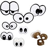 70 Pairs Funny Lovely Cartoon Safety Eyes Cute for Teddy Bear Doll Animal Puppet Craft