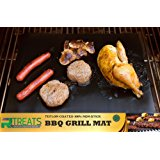RL Treats 15.75-Inch-by-13-Inch Non Stick Teflon Oven Liners for 30-Inch Ovens, 3-Pack