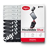 Sugru Moldable Glue - Original Formula - Black & White 8-Pack