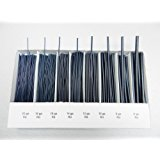 WAX WIRES JEWELERS WAX ASSORTMENT BLUE ROUND WAX WIRE JEWELRY MAKING MODELING (E 6) NOVELTOOLS