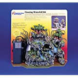 This Flowing Waterfall Kit Comes w/ BONUS Filter Cartridge Included Is Ideal for Reptiles or Hermit Crab Habitats!!