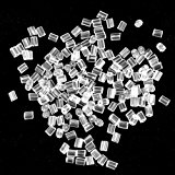 Earring Backs - 500pcs - Earring Backs - Clear with Kare & Kind® retail packaging (2.5mm x 3mm)