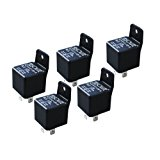 Absolute USA RLS125-5 SPDT 30/40A 12 VCD Automotive Relay - 5 Pack