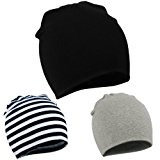 Zando Infant Toddler Baby Unisex Cotton Soft Cute Lovely Newborn Kids Hat Beanies Caps Baby Beanie for Boys Girls