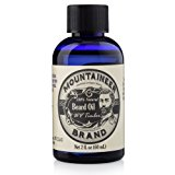 Beard Oil by Mountaineer Brand, WV Timber, Scented with Cedarwood and Fir Needle, Conditioning Oil , 2 oz bottle