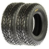 SunF Sport Quad ATV UTV Road Tires 25x8-12 25x8x12 6 PR A021 (Set pair of 2)