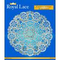 Royal Lace Foil Lace Round Doilies, Silver, 12 Inch - 1 Pkg