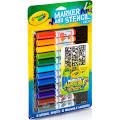 Crayola Marker Airbrush Stencil Kit