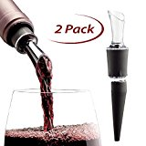 AeraWine Infusion Wine Aerator/Pourer, 2-PACK Holiday Special, 100% Made in the USA