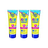 Banana Boat Kids Tear Free Sunscreen Lotion SPF 50, 8 Oz (Pack of 3)