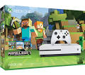 Microsoft Xbox One S Minecraft Favorites Bundle - 500 GB - Robot White