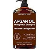Pure Body Naturals Moroccan Argan Oil Shampoo, 16 Ounce