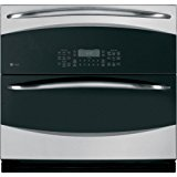 """GE PT925SNSS Profile 30"""" Stainless Steel Electric Single-Double Wall Oven - Convection"""